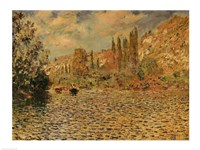 The Seine at Vetheuil Fine-Art Print