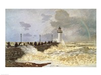 The Quay at Le Havre, 1868 Fine-Art Print