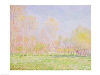 Spring in Giverny, 1890 Fine-Art Print