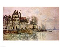 The Port of Amsterdam Fine-Art Print