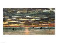 Sunset Over the Sea Fine-Art Print