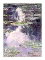 Pond with Water Lilies, 1907 Fine-Art Print