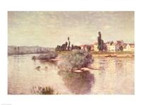The Seine at Lavacourt, 1880 Fine-Art Print