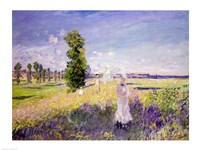 The Walk (Argenteuil), c.1872-75 Fine-Art Print
