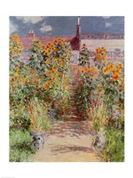 The Garden at Vetheuil, 1881 Fine-Art Print