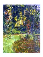 Garden of Giverny, 1923 Fine-Art Print