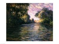 Morning on the Seine, 1897 Fine-Art Print