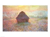 Haystack, Hazy Sunshine, 1891 Fine-Art Print