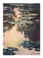 Waterlilies with Weeping Willows, 1907 Fine-Art Print