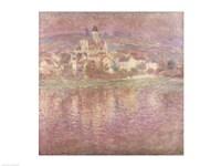 Vetheuil, sunset, 1901 Fine-Art Print