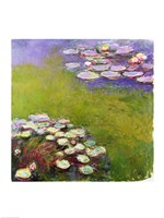 Waterlilies, Harmony in Blue, 1914-17 Fine-Art Print