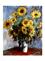 Still life with Sunflowers, 1880 Fine-Art Print