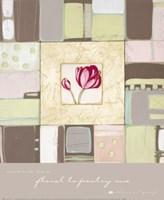 Floral Tapestry I Fine-Art Print