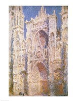 Rouen Cathedral, West Facade, Sunlight, 1894 Fine-Art Print