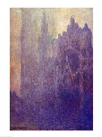 Rouen Cathedral, Foggy Weather, 1894 Fine-Art Print