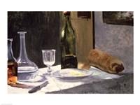 Still Life with Bottles, 1859 Fine-Art Print