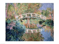 The Japanese Bridge, Giverny, 1892 Fine-Art Print