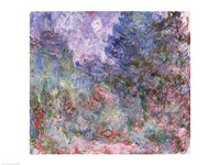 The House at Giverny Viewed from the Rose Garden, 1922-24 Fine-Art Print