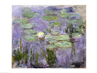 Waterlilies, 1915 Fine-Art Print
