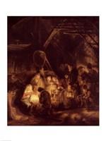 Adoration of the Shepherds, 1646 Fine-Art Print