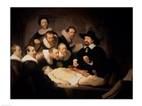 The Anatomy Lesson of Dr. Nicolaes Tulp, 1632 Fine-Art Print