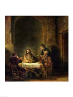 The Supper at Emmaus, 1648 Fine-Art Print