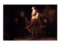 The Departure of the Shemanite Wife Fine-Art Print