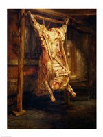 The Slaughtered Ox, 1655 Fine-Art Print