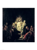 The Incredulity of St. Thomas Fine-Art Print