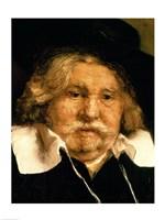 Detail of a Portrait of an old man, 1667 Fine-Art Print