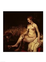 Bathsheba Bathing, 1654 Fine-Art Print