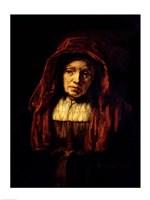 Portrait of an Old Woman Fine-Art Print