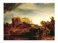 Landscape with a Chateau Fine-Art Print