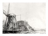 The Mill, 1641 Fine-Art Print