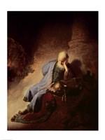 Jeremiah mourning over the Destruction of Jerusalem Fine-Art Print