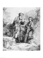 Abraham and Isaac, 1645 Fine-Art Print