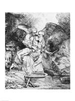 The Sacrifice of Abraham, 1645 Fine-Art Print