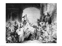 The Triumph of Mordecai, c.1640 Fine-Art Print