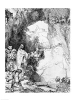 The Great Raising of Lazarus Fine-Art Print