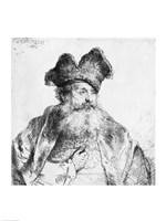 Portrait of an old man Fine-Art Print