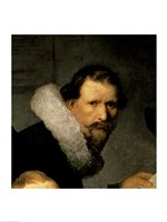 The Anatomy Lesson of Dr. Nicolaes Tulp, 1632 (right detail) Fine-Art Print