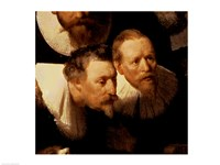 The Anatomy Lesson of Dr. Nicolaes Tulp, 1632 (two viewers detail) Fine-Art Print