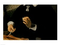 The Anatomy Lesson of Dr. Nicolaes Tulp, 1632 (hands detail) Fine-Art Print