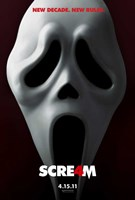 Scream 4 Wall Poster