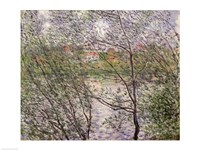The Banks of the Seine or, Spring through the Trees Fine-Art Print