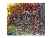 The Japanese Bridge at Giverny - abstract Fine-Art Print