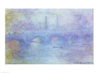 Waterloo Bridge, Effect of Fog, 1903 Fine-Art Print