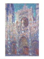 Rouen Cathedral in the Setting Sun Fine-Art Print