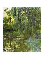 Weeping Willows, The Waterlily Pond at Giverny, c.1918 Fine-Art Print