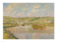Late Afternoon, Vetheuil, 1880 Fine-Art Print